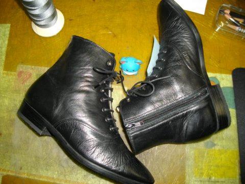 ブーツ ライニング交換例 3
