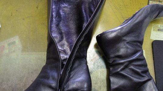 ブーツ ライニング(内貼り)交換例 3-2