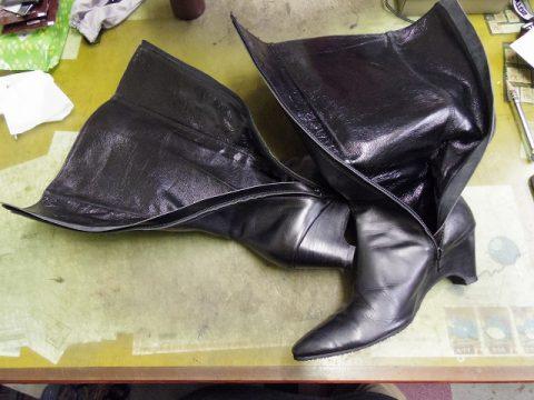ブーツ ライニング(内貼り)交換例 3