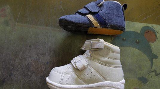 小児靴 補高例 2-1