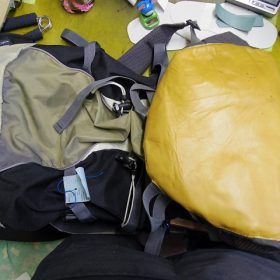 登山用ザック補修例