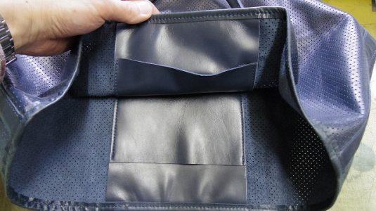 バッグ マグネットホックの新規取り付け例 2-2