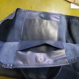 バッグ マグネットホックの新規取り付け例