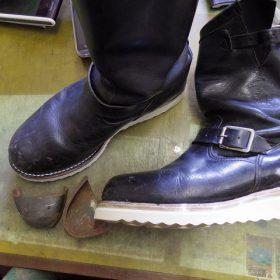 ブーツ ソール改造
