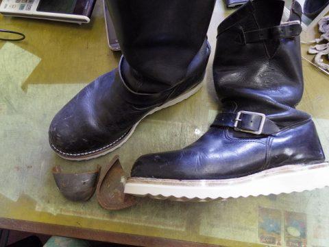 ブーツ ソール改造 3