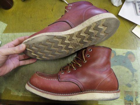 レッドウイング ブーツ カスタム例 2