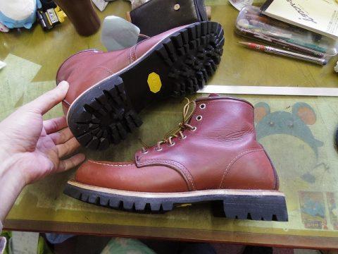 レッドウイング ブーツ カスタム例 3