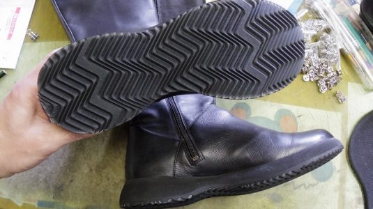 CAMPER ブーツ オールソール例 3-1