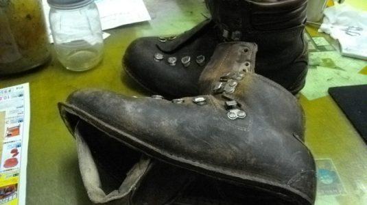登山靴修理例 3-1