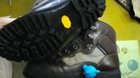 登山靴修理例 2-2