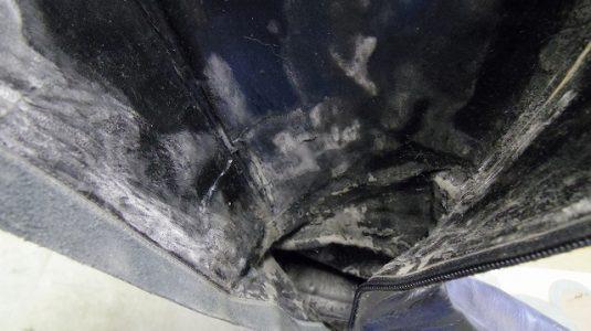 ブーツ ライニング(内貼り)交換例 2-2