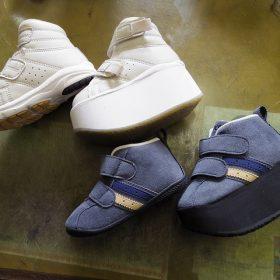 小児靴 補高例