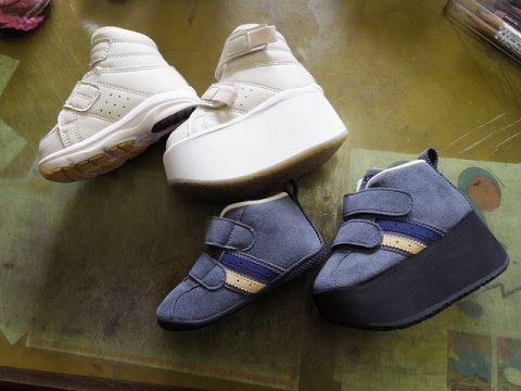 小児靴 補高例 3