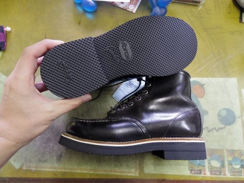 RED WING ソールカスタマイズ 3