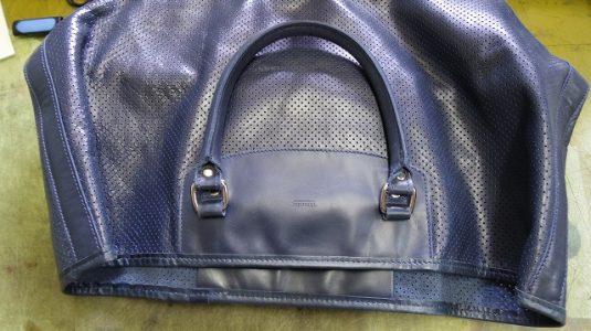 バッグ マグネットホックの新規取り付け例 2-1