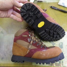 登山靴 オールソール