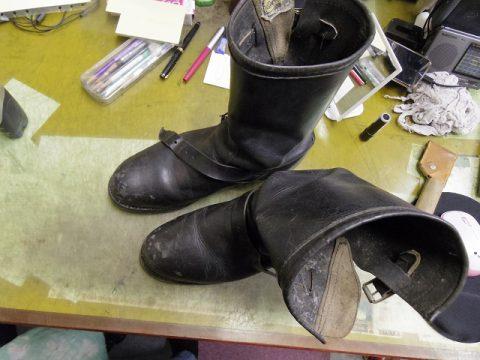 ブーツ ソール改造 2