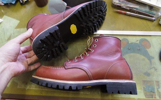 レッドウイング ブーツ カスタム例
