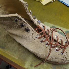 ブーツ フック金具交換例