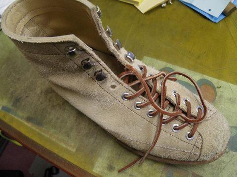 ブーツ フック金具交換例 2