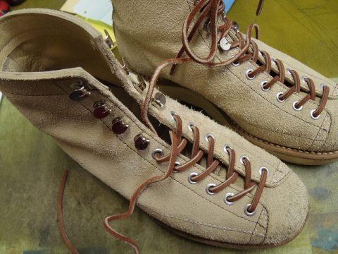 ブーツ フック金具交換例 3