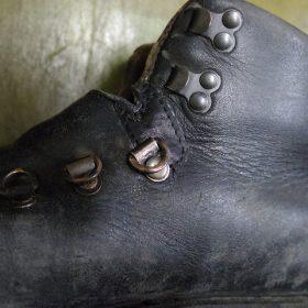 ブーツ 破れ補修例