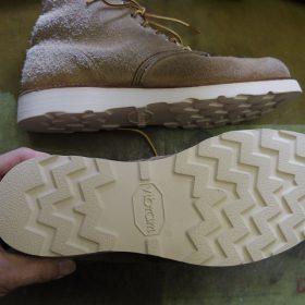 レッドウイング ブーツ オールソール例