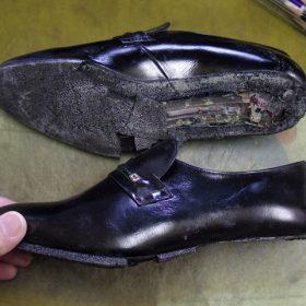 紳士靴 ポリウレタンソール 交換例