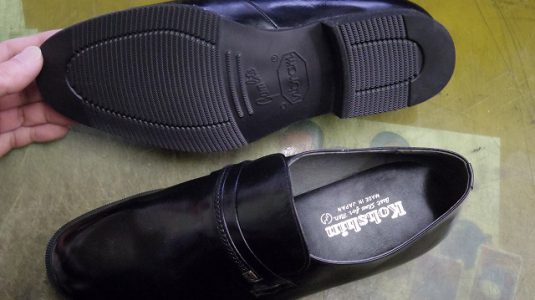 紳士靴 ポリウレタンソール 交換例 3-1