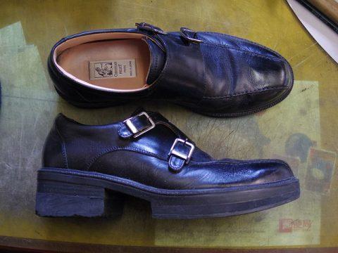 紳士靴 補高修正例 2