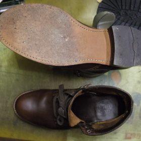 紳士ブーツ ハーフソール例