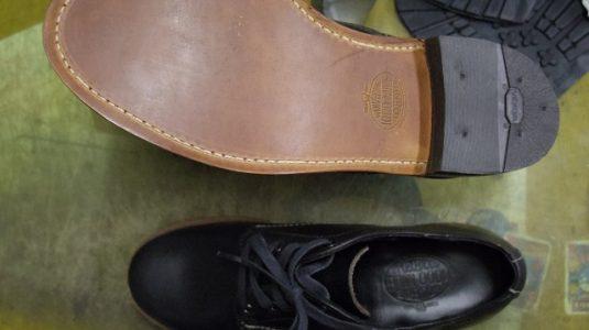 紳士ブーツ ハーフソール例 2-2