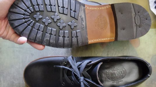 紳士ブーツ ハーフソール例 3-2