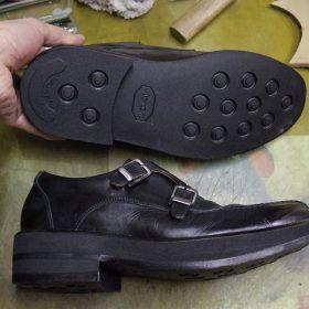 紳士靴 補高修正例