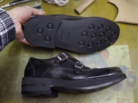 紳士靴 補高修正例 3