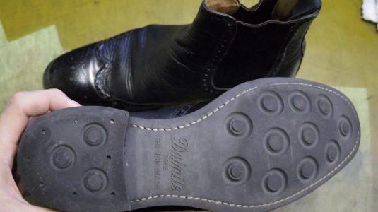 紳士ブーツ ソールカスタム例 2-2