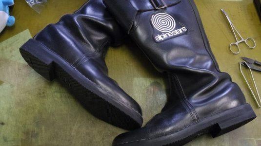 ライディングブーツ オールソール例 3-1