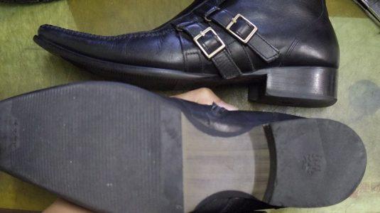 紳士靴 トップリフト例 2-1
