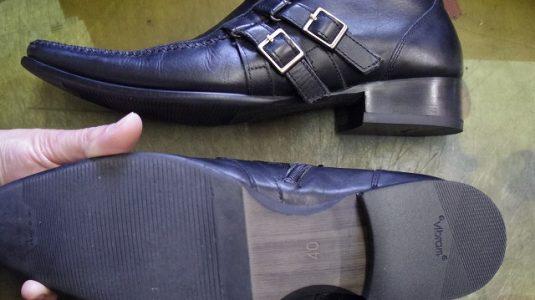 紳士靴 トップリフト例 3-1