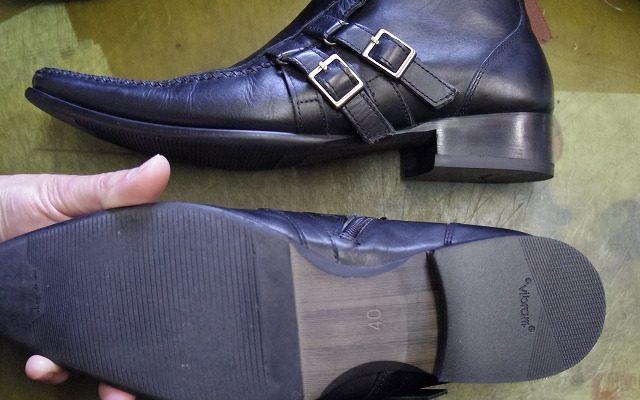 紳士靴 トップリフト例