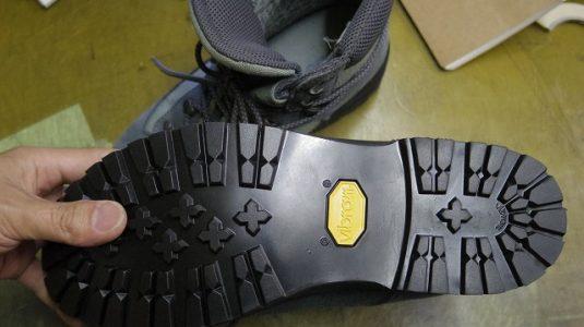SIRIO 登山靴オールソール例 3-2