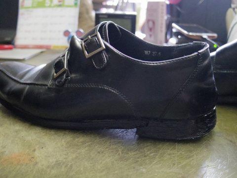 紳士靴 オールソール例 2-2