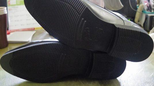 紳士靴 オールソール例 3-1