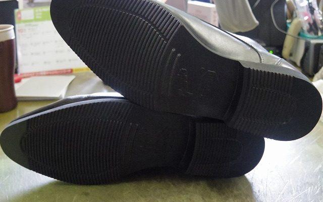 紳士靴 オールソール例