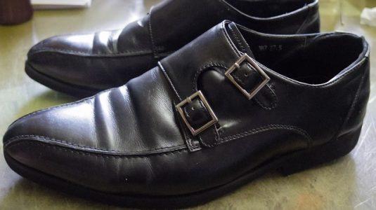 紳士靴 オールソール例 3-2
