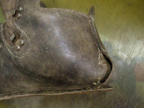 登山靴 分解修理例 2-2