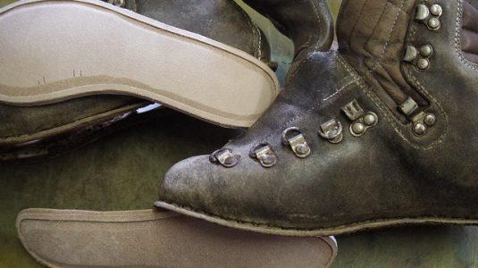 登山靴 分解修理例 3-3