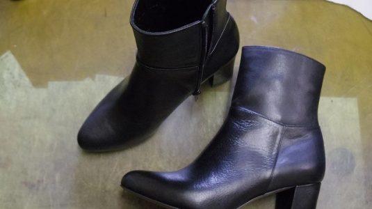 婦人用ブーツ ハーフソール例 2-1
