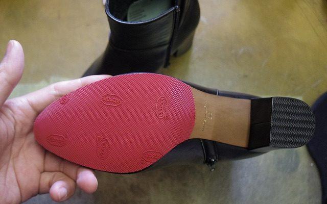 婦人用ブーツ ハーフソール例