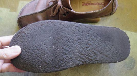 クラークス ソールカスタム例 2-2